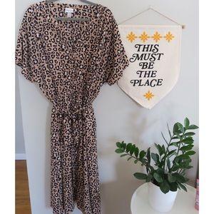 Ava & Viv Cheetah Print Dress